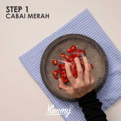 Step 1 Sambal Mentah