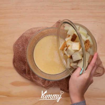 Step 2 Puding Roti Milk Bath Spekulas