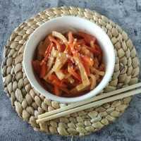 Kimchi Lobak Wortel #JagoMasakMinggu1Periode3