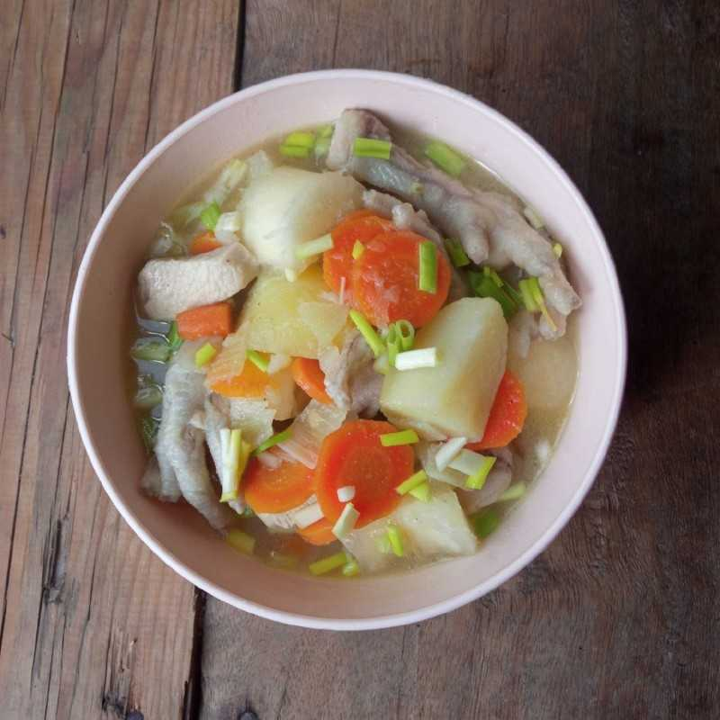 Sup Singkong Ceker #JagoMasakMinggu1Periode3