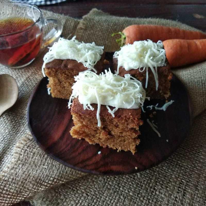 Cake Wortel #JagoMasakMinggu1Periode3