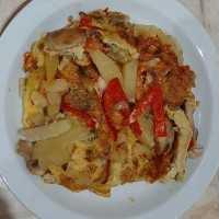 Spanish X Indo Potato Tart #JagoMasakMinggu1Periode3