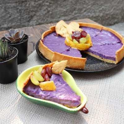 Step 8 Pie Ubi Ungu Mix Fruit #JagoMasakMinggu2Periode3