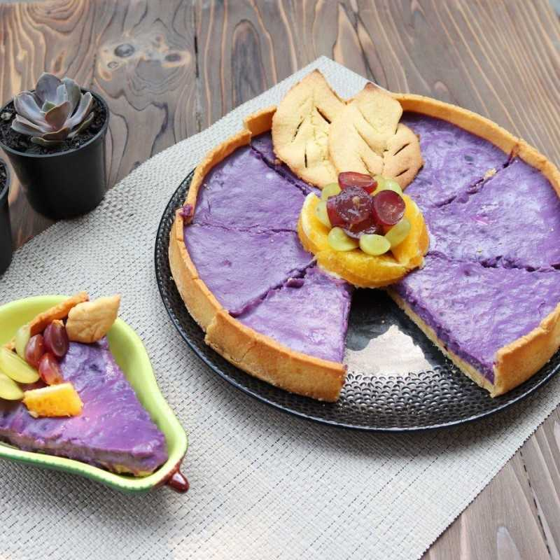 Pie Ubi Ungu Mix Fruit #JagoMasakMinggu2Periode3