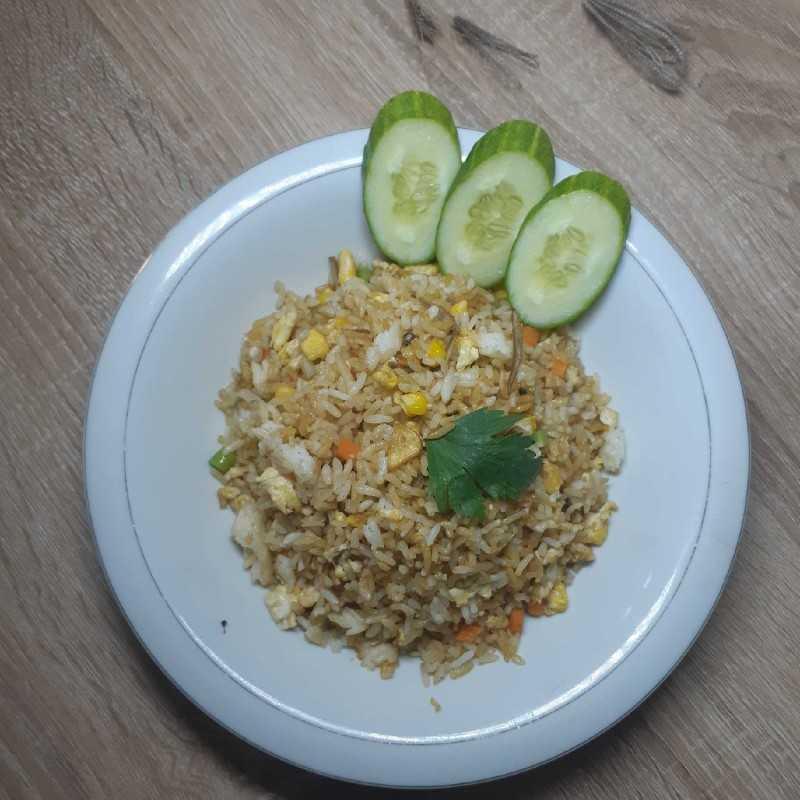 Nasi Goreng Teri Spesial
