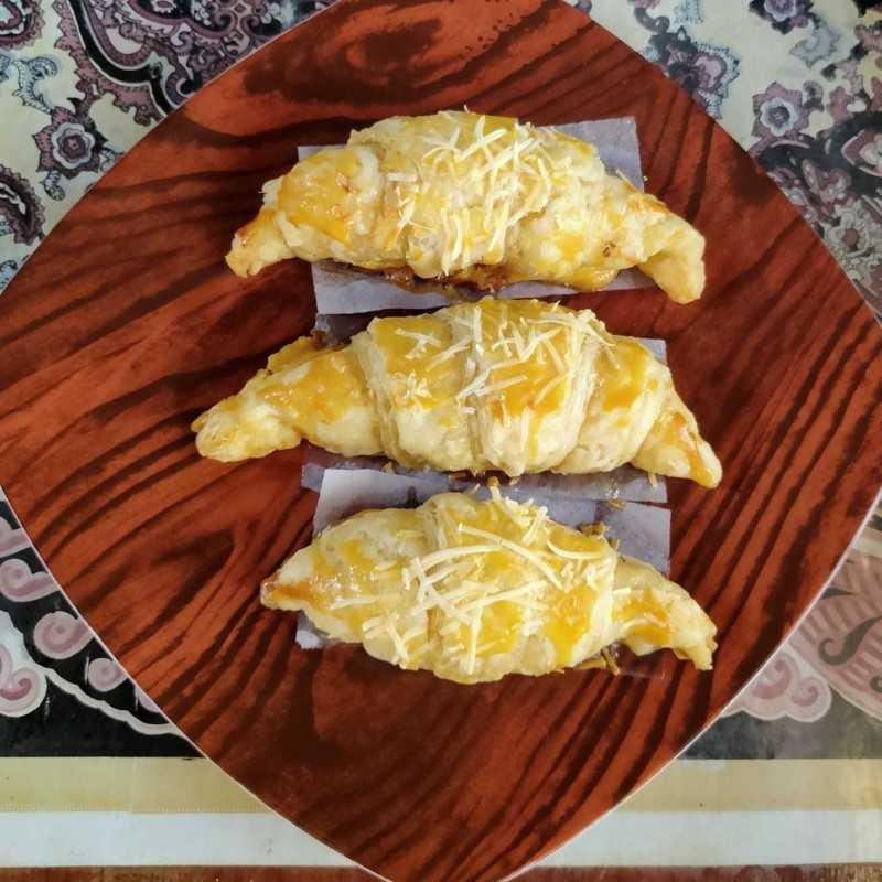 Croissant Keju #JagoMasakMinggu2Periode3