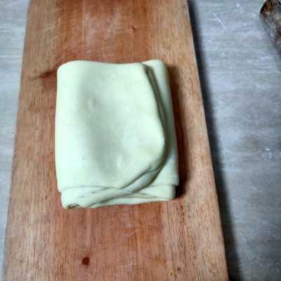 Step 4 Bolen Pisang Coklat #JagoMasakMinggu2Periode3