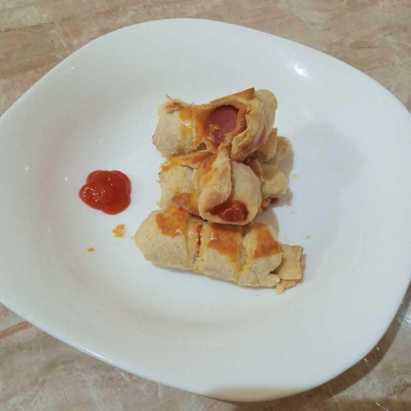 Mini Sausage Croissant #JagoMasakMinggu2Periode3