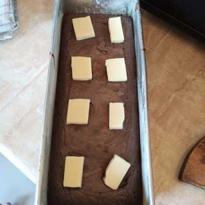 Step 6 Fudgy Brownie #JagoMasakMinggu3Periode3
