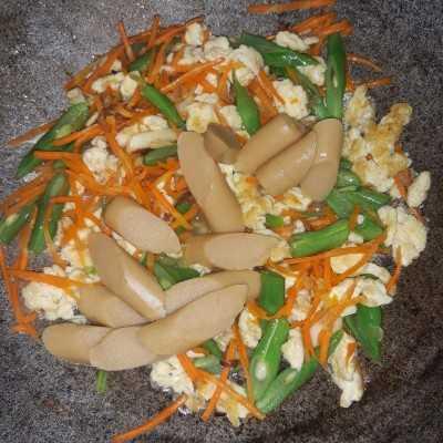 Resep Orak Arik Telur Sayur Sosis Jagomasakminggu3periode3 Dari Chef Iddiyah Alkarni Gema Yummy App