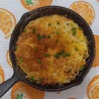 Cheesy Potato Gratin #JagoMasakMinggu1Periode3