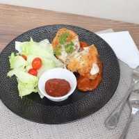 Chicken Cordon Bleu Melted #JagoMasakMinggu4Periode3