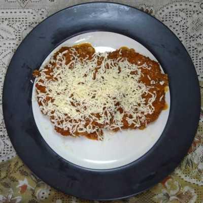 Step 6 Chicken Parmigiana #JagoMasakMinggu4Periode3