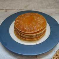 Fluffy Honey Pancake #JagoMasakMinggu4Periode3