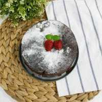 Swedish Sticky Chocolate Cake #JagoMasakMinggu4Periode3