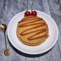 Pancake Salted Caramel #JagoMasakMinggu4Periode3