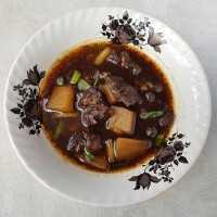 Rawon Daging Dan Labu Siam