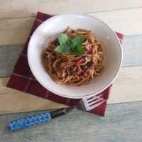Spaghetti Rendang #JagoMasakMinggu5Periode3