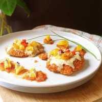 Chicken Parmigiana Sambal Nanas #JagoMasakMinggu5Periode3