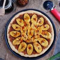 Pizza Pisang Unti Kelapa #JagoMasakMinggu5Periode3