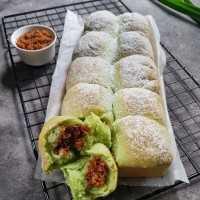 Milky Bread Pandan Unti #JagoMasakMinggu5Periode3