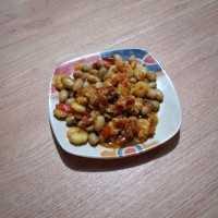 Sambel Goreng Udang Kacang Merah #JagoMasakMinggu7Periode3