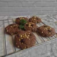 Cokelat Kacang Cookies #JagoMasakMinggu7Periode3