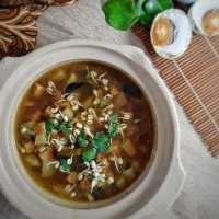 Rawon Daging Sapi & Labu Siam #JagoMasakMinggu8Periode3