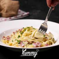 Spaghetti Creamy Sauce
