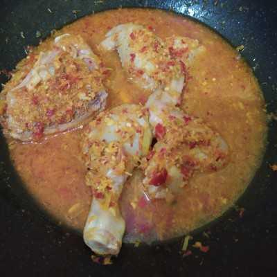 Step 5 Ayam Betutu #JagoMasakMinggu9Periode3