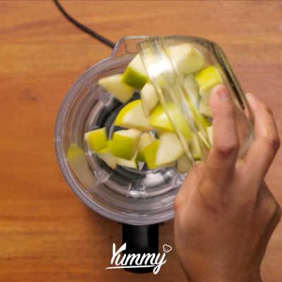 Step 1 Apple Banana Milkshake