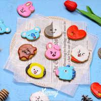 BT21 BTS Cookies (방탄소년단 쿠키)