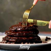 Double Choco Pancake