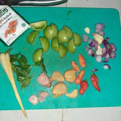 Step 4 Garang Asem Ikan Tenggiri