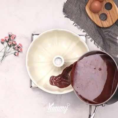 Step 3 Coklat Vanila Pudding