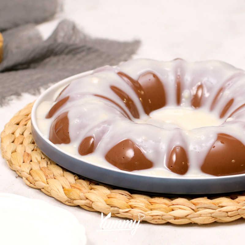 Coklat Vanila Pudding