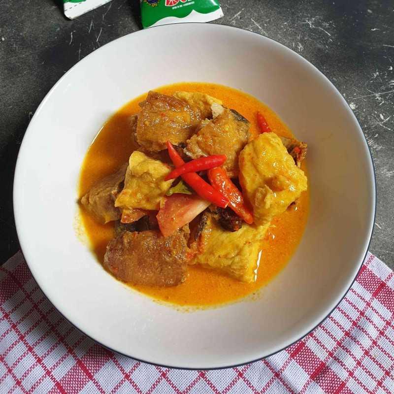 Gulai Ikan Jambal Tahu