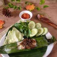 Nasi Liwet Bakar Tongkol