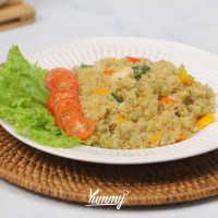 Vegetable Sauteed Quinoa