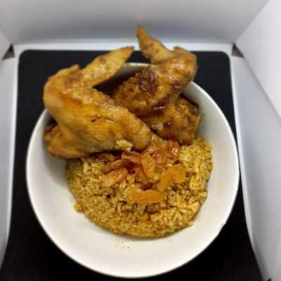Step 9 Nasi Kebuli Ayam Kalasan