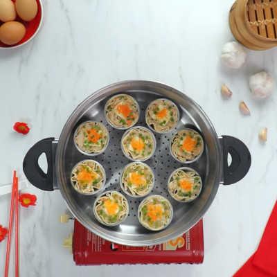 Step 4 #Cheeseperity Chicken Dumpling