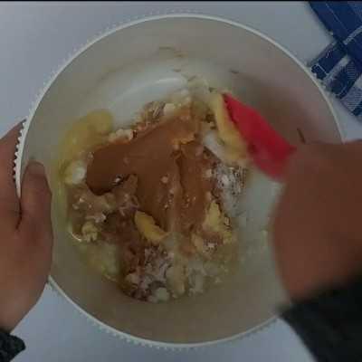 Step 1 Kuker Selai Kacang