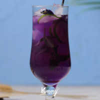 Lime Butterfly Pea Ice