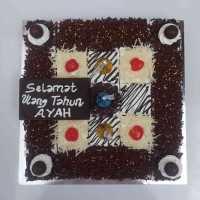 Cake Cokelat Potong
