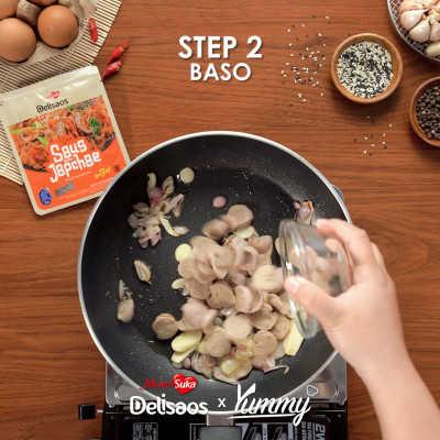 Step 2 Mie Goreng Jawa Bumbu Japchae