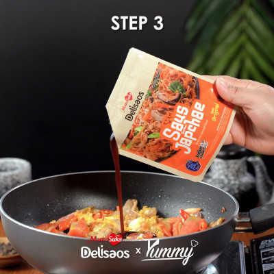 Step 3 Mie Goreng Jawa Bumbu Japchae