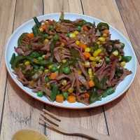 Simple Mix Vegetable & Smoked Beef