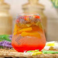 Es Kiwi Peach Soda