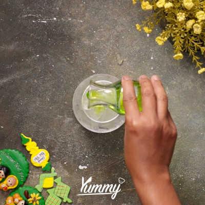 Step 3 Es Timun Lemon