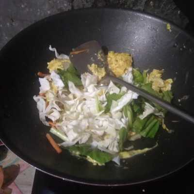 Step 6 Mie Goreng Telur